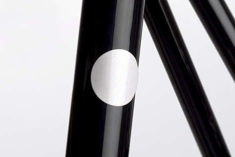Polkadot Bike Accessories - The Bookman Magnetic Reflectors Makes Cyclists More Visible
