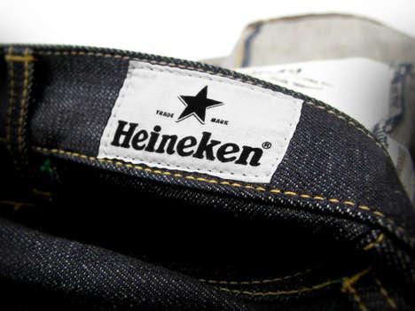 Beer-Branded Denim - The Heineken X Neighborhood Denim Collection Exudes Quality