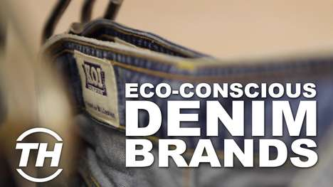 Eco-Conscious Denim Brands - Kings of Indigo Limit the Damage to the Environment