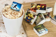 Gourmet Photo-Printed Marshmallows - Eat Your Instagram Photos Printed On Marshmallows