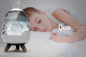 The Qua Humidifying Light Improves the Illumination and Air of the Atmosphere
