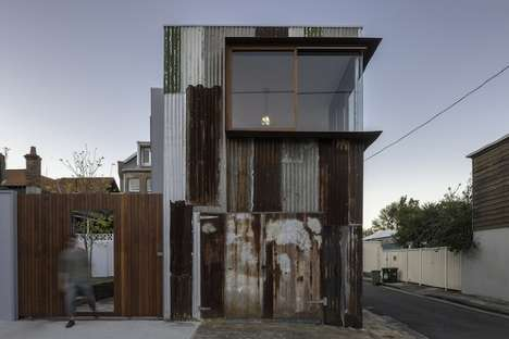 Eclectic Tin Shed Homes - Inspiring Eco Architecture by Rafaello Rosselli Embraces Rusticity