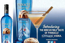 Pinnacle Cinnabon Vodka is an Industry-First Confectionary Concoction