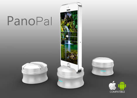 Panorama-Perfecting Smartphone Gagets - The Panopal Makes it Easy to Take 360-Degree Photos