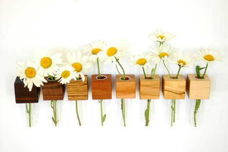 Floating Magnetic Flower Holders - This Magnetic Flower Vase by Myflowermeadow is Adorable