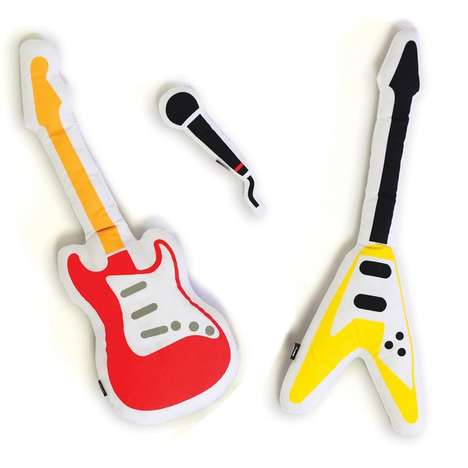 Plush Rock Star Pillows - These Cool Pillows Will Have You Rocking Out
