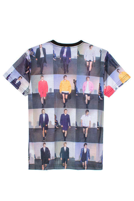 Sartorial Slideshow T-Shirts - This Designer Showing T-Shirt from Wil Fry is Graphically Gorgeous
