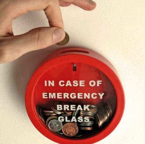 Fire Alarm Emergency Funds - Emergency Funds Enclosed in a Fire Alarm Box are Fool Proof