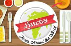 Global Lunch Infographics