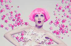 Provocative Pink Portraits