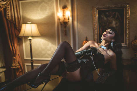 Luxe Vixen Editorials - The XOXO The Mag Winter 2013 Photoshoot Stars Natalia Kills