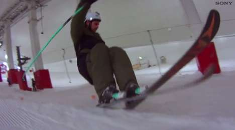 Extreme Ski Practice Videos - James Webb Films Stunts for