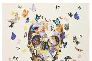 Damien Hirst Updates Alexander McQueen's Iconic Skull Print
