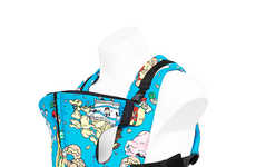Designer Baby Accessories - This 'Cybex' Baby Carrier Comes from Designer Jeremy Scott