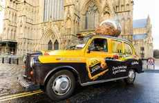 Food-Scented Cabs - McCain Foods Gives You a Free Ride and a Free Jacket Potato
