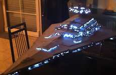 Star Wars Fan Thomas Tewoort Created an Amazing Star Destroyer