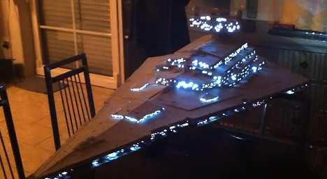 Intricate DIY Space Ships - Star Wars Fan Thomas Tewoort Created an Amazing Star Destroyer