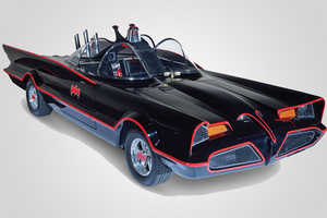 This Highly Detailed Batmobile Replica is Ready for the Road
