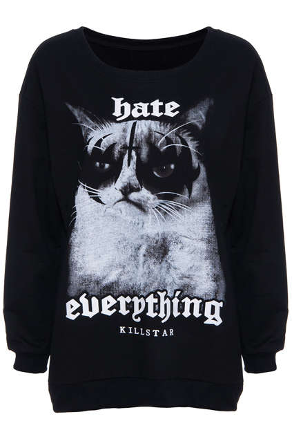 Unfriendly Feline Fashion - This Grumpy Cat Shirt from