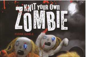 Fiona Goble Teaches You to Knit Your Own Zombies