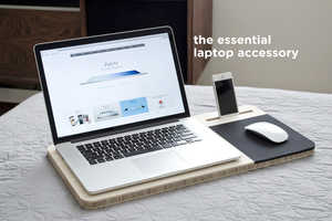 The Slate Mobile AirDesk is Designed for Comfort