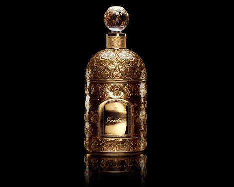 Royal Celebratory Fragrances - Guerlain Reinvented its Legendary Perfume in Solid Gold