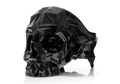 Menacing Skull Chairs - This Skull Chair Harold Sangouard is an Imposing Piece of Furniture
