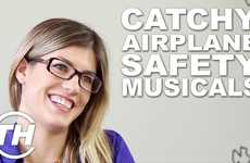 Catchy Airplane Safety Musicals - The Virgin America New Safety Video Will Get You Dancing