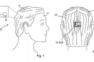 Sony's SmartWig is a Smartphone Lodged in Your Hair