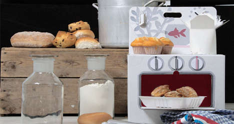 Cardboard Culinary Instruments - The Cocorico Cooker is the Starter Kitchen for Your Future Cooks