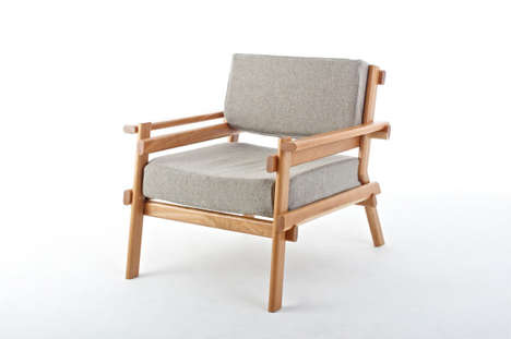 Minimalist Crafted Wooden Furniture - The Sam Greig Furniture Showcases a Simplistic Wooden Finish