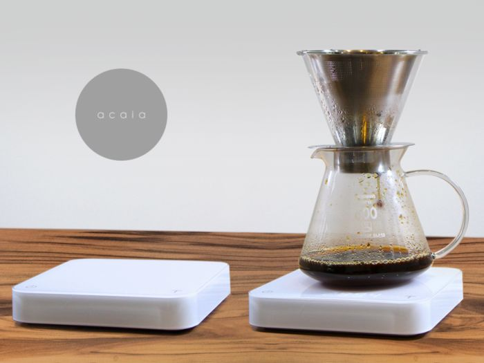 Minimalist Coffee Brewing Scales