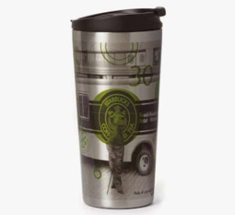 Java Giant Drink Giveaways - The Starbucks Black Friday Tumbler Comes With Free Coffee for a Month