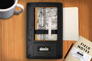 The 'Doxie Flip' is a Wireless Wonder Scanner