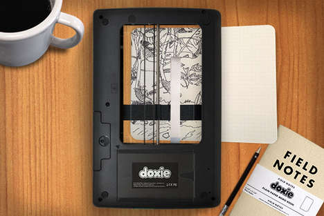See-Through Wireless Scanners  - The 'Doxie Flip' is a Wireless Wonder Scanner