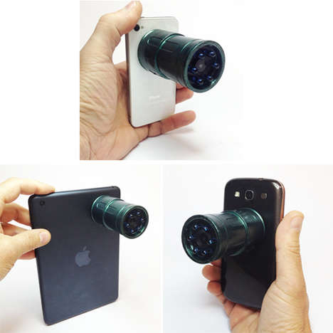 Night Vision Mobile Accessories - The Snooperscope Will Let You Film in the Dark with Your Phone