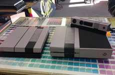 Retro Game Console Skins - These Retro NES Skins Disguise Your New Xbox One and PS4