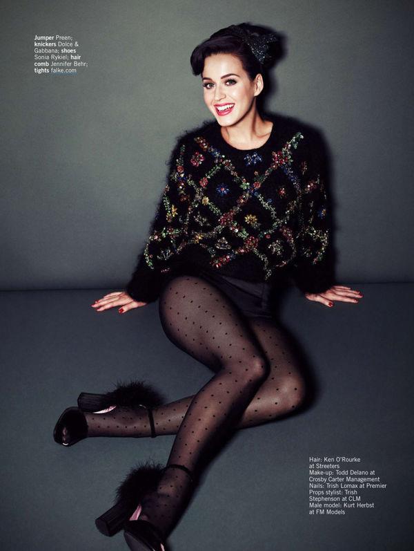 Glamour UK December 2013