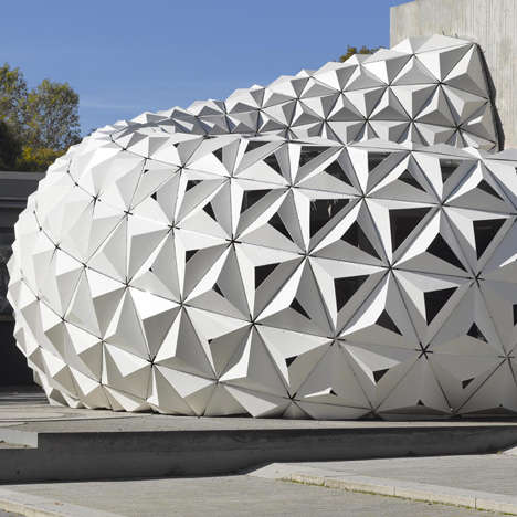 Sustainable Cellular Pavilions - The