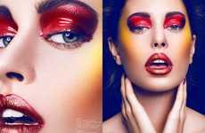 Vivid Eyeshadow Editorials