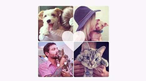 Social Animal Adoption Campaigns - Famous Animals on Instagram Help to Promote Pet Adoptions