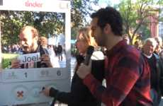 Real-Life Dating App Simulations - This Stunt Brings Dating on the Tinder App to the Streets of NYC