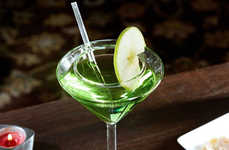 No-Spill Alcohol Dishware - The Spill-Proof Martini Glass is Perfect for the Clumsy Drinker