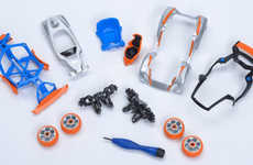 Miniature Robotic Toy Cars - The Modarri Toy Car is a Miniature Car for Kids