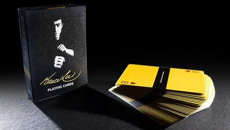 Iconic Martial Artist Cards - These Bruce Lee Playing Cards Honor the Late Martial Artist