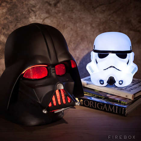 Sci-Fi Head Lights - The Force is Strong in These Sci-Fi Mood Lights