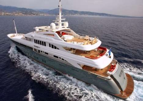 Multi-Layered Superyachts - The Victory V Superyacht is Equipped for Relaxation & Fun on the Seas