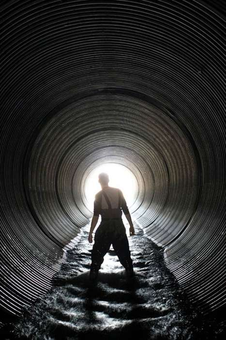 Exploratory Sewer Photography - Andrew Emond Captures Photos of the Sewers in this Underground City