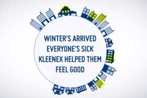 Kleenex Watched Social Media and Sent Out Get Well Kits