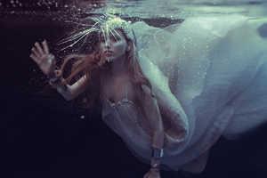 Ekaterina Belinskaya Stars in This Mermaid Style Fashion Series